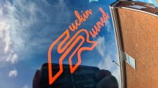 Fucking Ruined Decal/Sticker  in Cut Vinyl